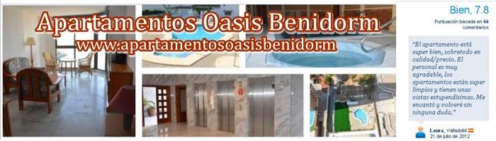 Apartamentos oasis benidorm ya puedes disfrutar de tu vacaciones en primera l nea de playa en - Ofertas de apartamentos en benidorm ...