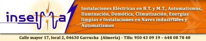 Inselma electricidad garrucha - Trabajo en garrucha ...