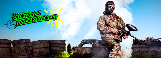 banner paintball supervivientes