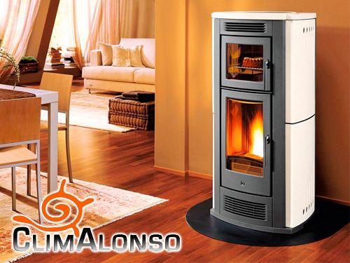 Disfruta tu hogar con nuestras estufas de pellets alto for Oferta estufa pellets