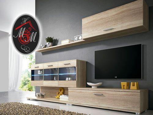 Composici n nica con luces led por 245 mueble hogar for Muebles en almeria ofertas