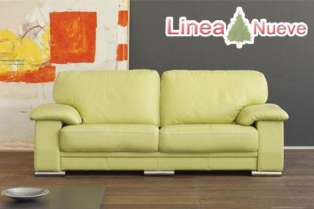 Sof pedro ortiz tapizado en piel por s lo 690 euros en - Pedro ortiz sofas precios ...