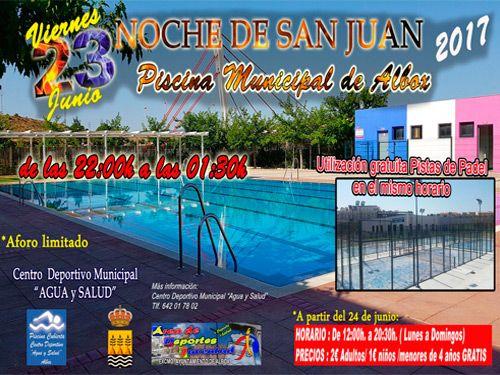 Noche de san juan en la piscina del centro deportivo municipal de 39 agua y salud 39 - Centro de salud san juan ...