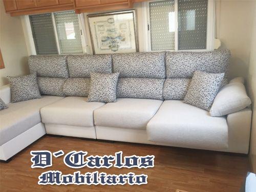 Sofas made to measure for you d carlos mobiliario sof s for La casa de mi gitana muebles