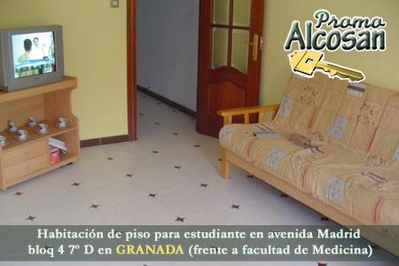 Alquila habitaci n para estudiantes en avda madrid de granada frente facultad medicina por 170 - Habitacion para estudiantes en madrid ...
