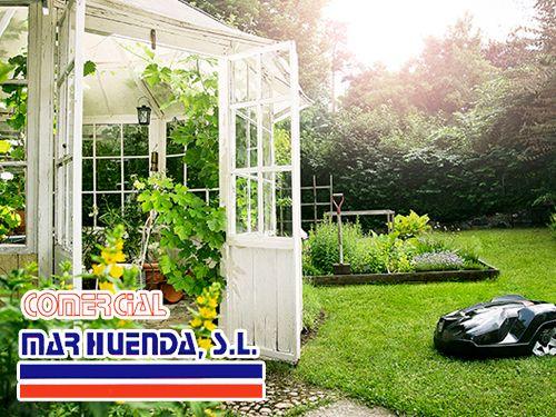 Maquinaria de jardineria en comercial marhuenda for Maquinaria de jardineria