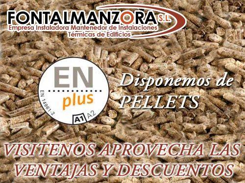 Estufas y calderas de pellets en fontalmanzora sl de albox for Oferta estufa pellets