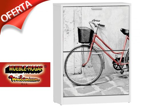 No escondas tus zapatos zapatero bicicleta con mueble for Mueble hogar milenium