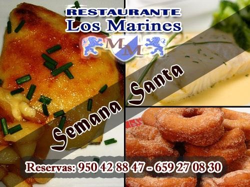 Platos de semana santa en restaurante los marines de hijate for Platos de semana santa