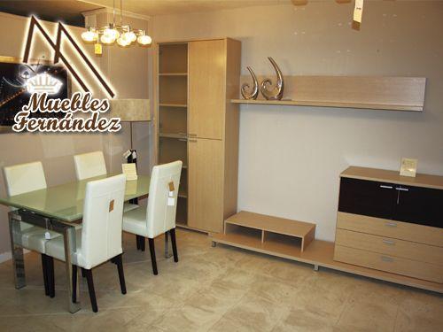 Modular mesa y sillas comedor en muebles fern ndez de for Muebles en almeria ofertas