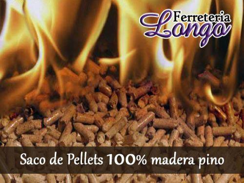 Saco de pellets a1 plus 100 madera pino desde eur - Sacos de pellets ...