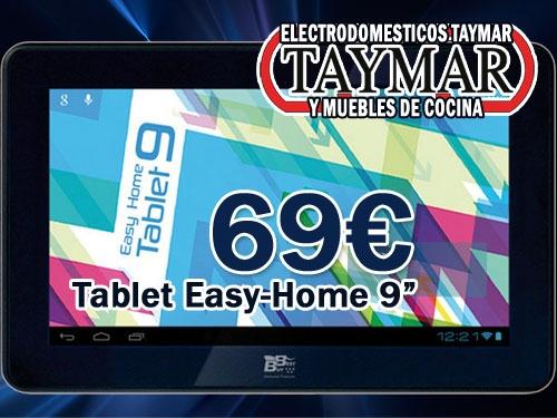 Tablet easy home 9 en electrodom sticos y cocinas taymar - Cocinas por 2000 euros ...