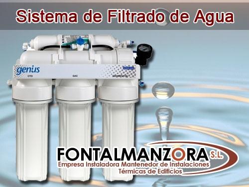 Osmosis inversa 5 etapas fontalmanzora en albox - Filtrado de agua ...