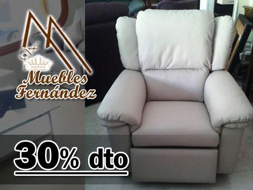 30 dto sill n relax piel rc gran confort en muebles for Muebles en almeria ofertas
