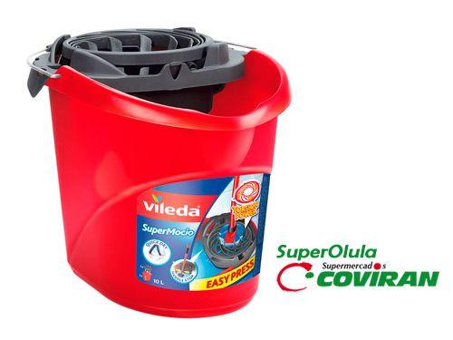 Cubo Fregona Vileda Súper fácil,  en Super Olula Covirán, supermercados en Olula del Río