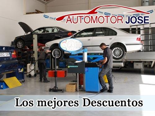 Talleres Mecánicos en Huércal-Overa: en Automotor José encontrarás precios muy ajustados en primeras marcas