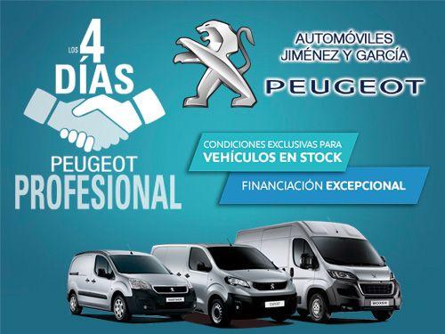 Los 4 días de Peugeot Profesional con Automóviles Jiménez y Garcia-Peugeot de Albox
