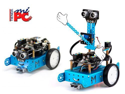 Conviértete en un Genio de la Robótica con el Robot Educativo mBOT!! En Tienda Mi PC de Albox