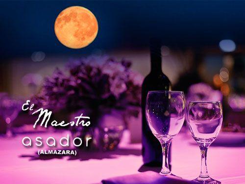 Disfruta de una Noche Especial a la luz de la luna, 30 de Junio, Asador el Maestro en Sierro