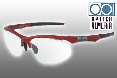 f2c7728ad4 75€ en vez de 150€ en gafas graduadas deportivas para la práctica de  cualquier deporte: padel, ciclismo…en óptica Almería.