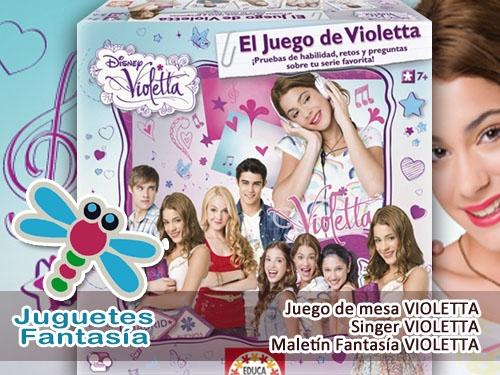 Colección Violetta en Juguetes Fantasía Huercal Overa
