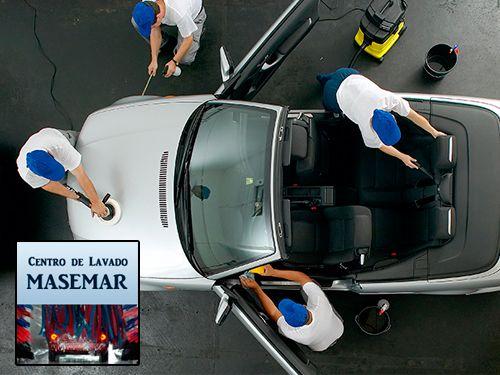 ¿Necesitas hacer una Limpieza Integral a tu vehículo? Centro de Lavado Masemar de Olula del Rio