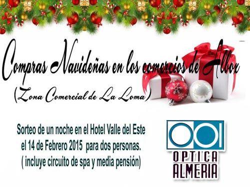 Hotel y Spa para el día de los enamorados con cada compra en Óptica Almería de Albox