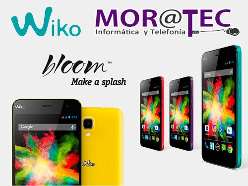 Moviles WIKO libres en MORATEC Tijola, tu tienda de informatica y telefonia movil