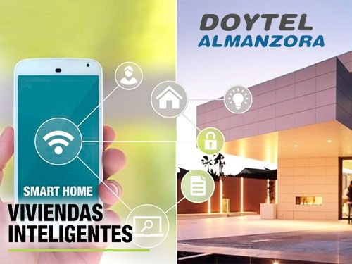 Controla tu casa desde tu móvil!!  Sistemas de Domótica Avanzada con Doytel Almanzora