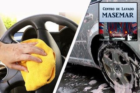 Limpieza completa de su vehículo mas llantas antes 23€ ahora por 20€ en Centro Lavado Masemar de Olula del Río