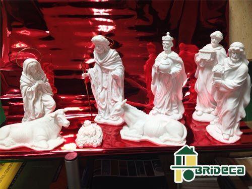 Nacimiento en marmolina con Brideca Pinturas y Decoración en Huércal-Overa