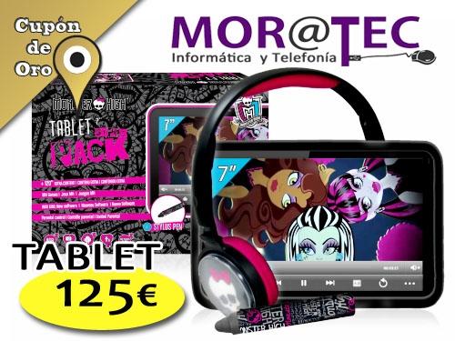 Tablet Monster High en Moratec Tíjola, Informática y Telefonía el mejor precio