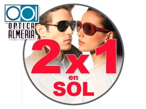 1172e6c5a6 2 Gafas de sol, comprando solo 1, Óptica Almería, ópticas en Albox