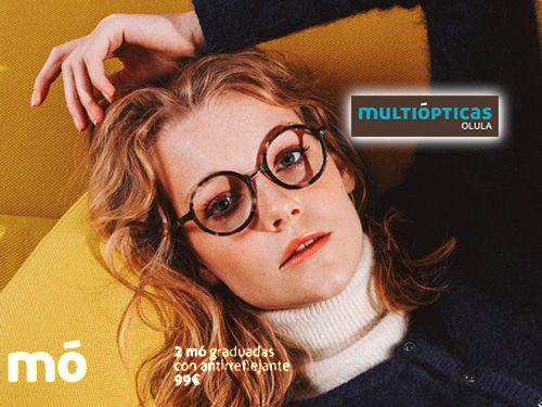 Pack 2 Gafas Mo Graduadas con Antirreflejantes por 99€. Multiópticas, ópticas en Olula del Río