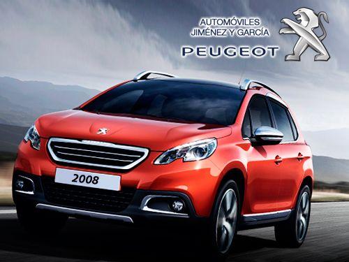 Nuevo Peugeot Crossover 2008! con Automóviles Jiménez y Garcia-Peugeot de Albox