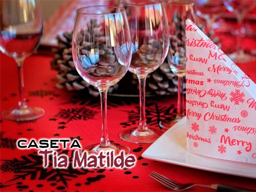 Regalo de 1 Consumición con tu Comida Navideña, en Caseta Tia Matilde, restaurantes en Cela
