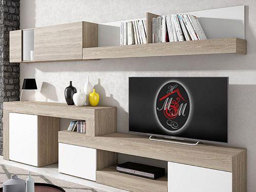 Composición de Salón extensible por 299€!! Mueble Hogar Milenium de Zurgena, distribuidor de muebles en Almería