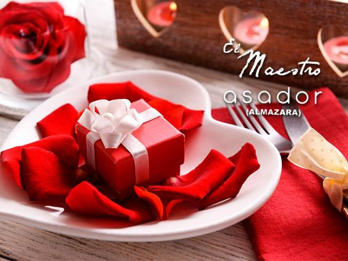 Cena San Valentín + Alojamiento + Sorteo kit de la pasión. Asador el Maestro, restaurantes en Sierro