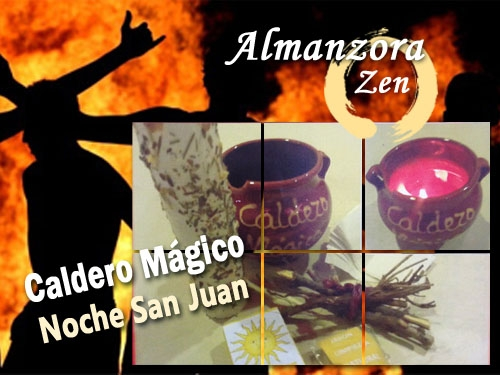 Consigue en Almanzora Zen Albox tu Caldero Mágico para el ritual de la noche de San Juan, noche de fuego y deseos