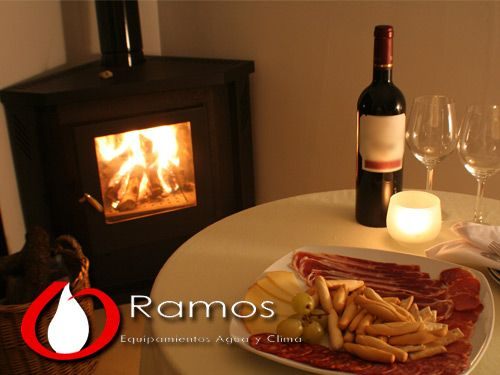 Creating an energy saving home, Wood Burning Stoves in Equipamientos Ramos from Fines (Almería)