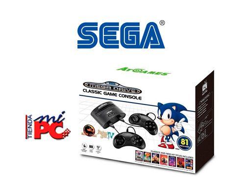 La mítica consola clásica SEGA Mega Drive, por solo 68.99€, Tienda Mi Pc  de Albox
