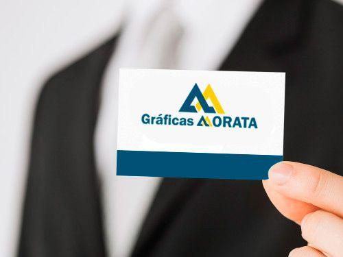 Impresión 500 tarjetas de Visita en Gráficas Morata de Huércal-Overa