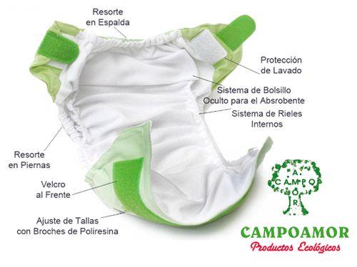 Pañales Ecológicos en CAMPOAMOR, productos ecológicos en Fines (Almería)