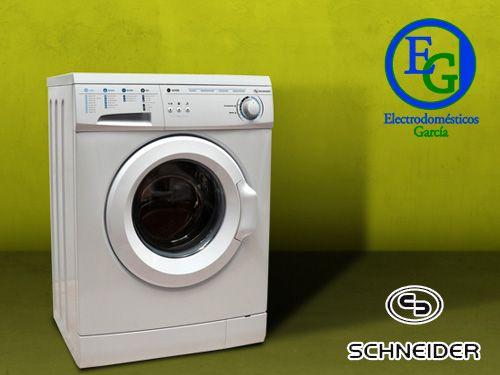 Lavadora Schneider y montaje en Electrodomésticos Garcia de Velez-Rubio
