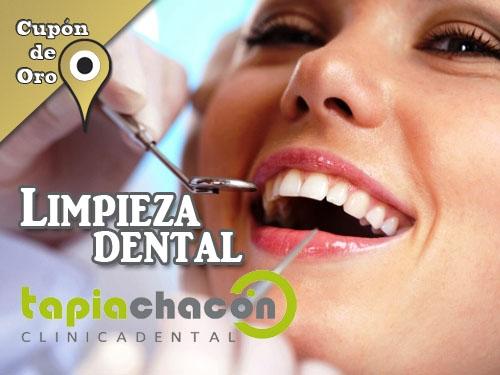 Limpieza bucal por sólo 35 Euros. Sonrisa Fresca y Limpia con Clínica Dental Tapia Chacón Olula del Río