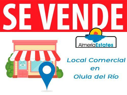 Local Comercial en la Avenida principal de Olula del Río por 89.000€. Almeria Estates, Grupo Inmobiliario.