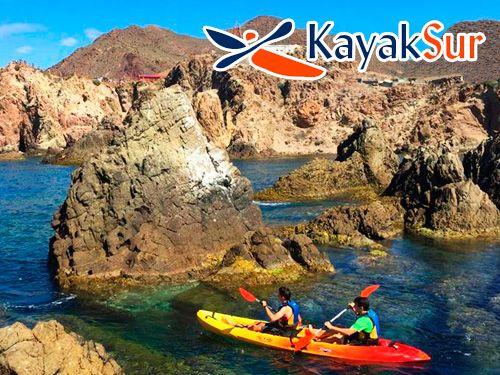Ruta en Kayak por Cabo de Gata + Snorkell + Reportaje Fotográfico + con KayakSur