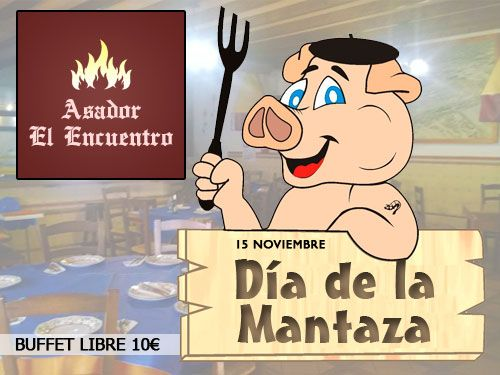 Especial Matanza con Buffet Libre por 10 euros en Asador El Encuentro de Olula del Río