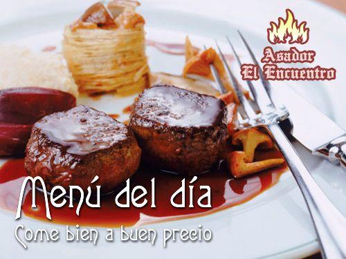 Para tus fines de semana, Buffet para niños y Menú completo para adultos en Asador El Encuentro de Olula del Río (Almería)