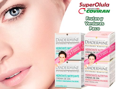 Pack 2 de Crema hidratante Diadermine en Super Olula Coviran de Olula del Río